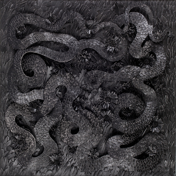 Paper Serpents The Serpent of the Dark Matter