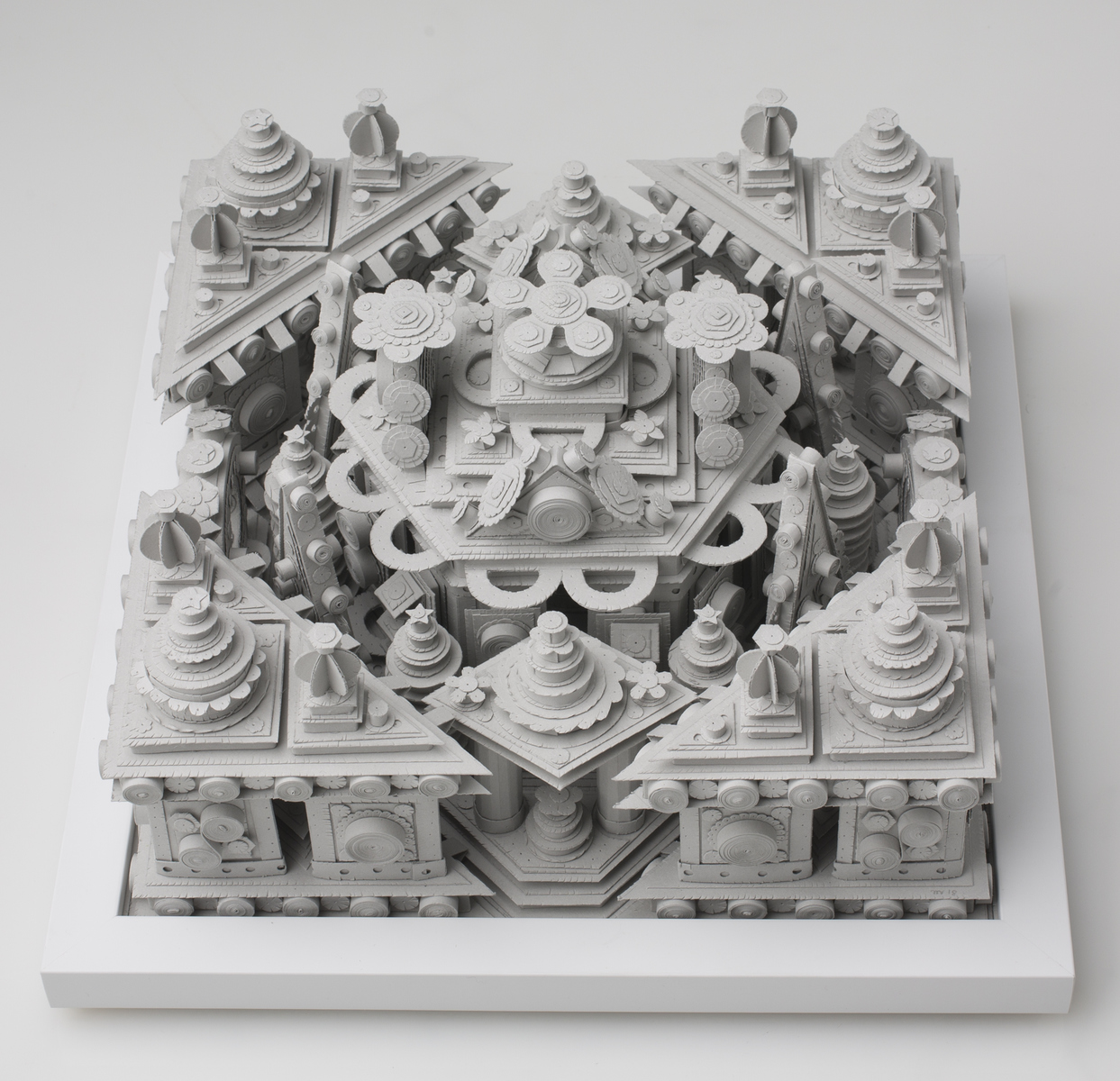 Paper Sculpture Untitled 8 (Metta)