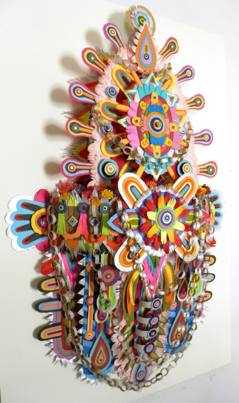 Early Paper Sculpture Oneness