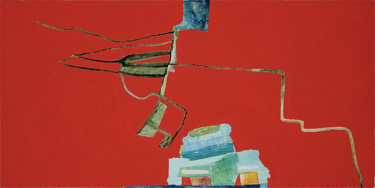 Victoria A. Reynolds 2011 Mixed media on canvas