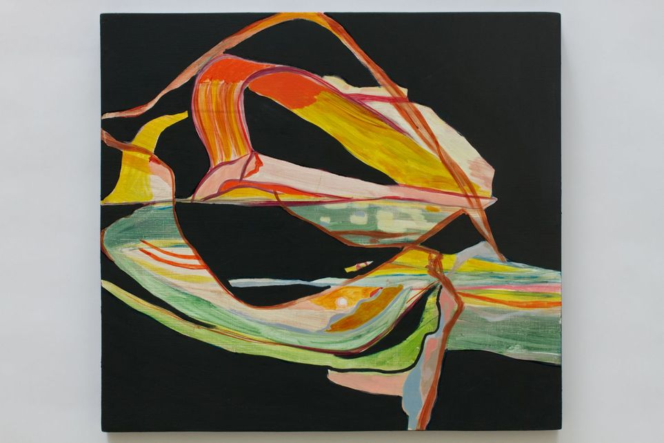 Victoria A. Reynolds 2011 Acrylic on panel