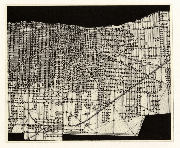 Maps Photopolymer Intaglio