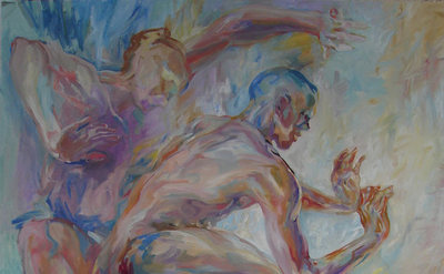 Virga Gallery More Dancers Oil on Canvas
