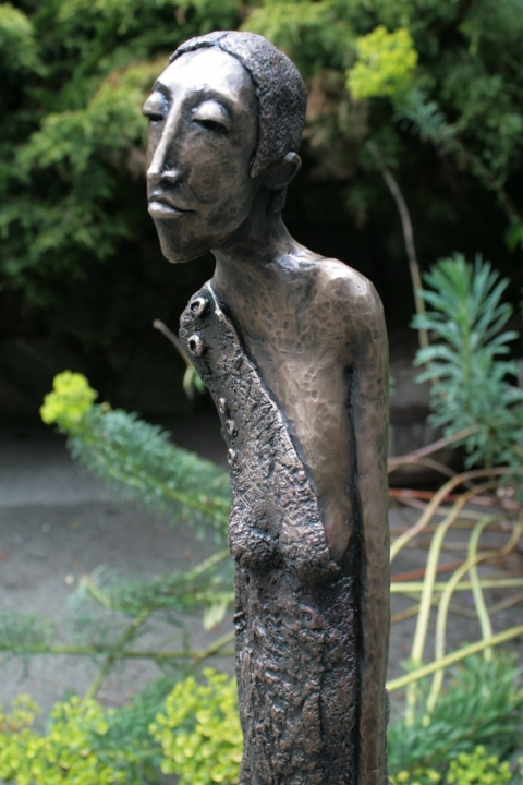 Bronze Work  In Her Element detail