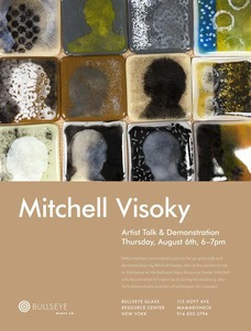 Mitchell Visoky Bullseye Glass Residency Fused Glass