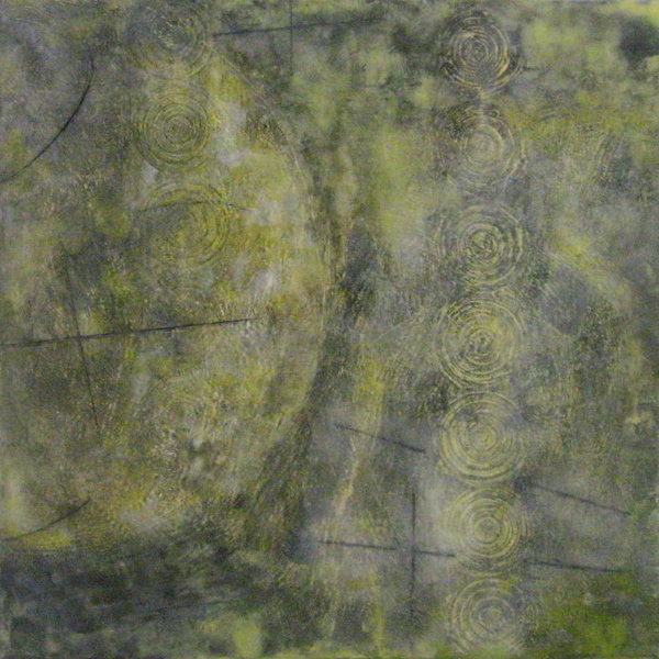 Mitchell Visoky Paintings Encaustic wax, oil stick on board