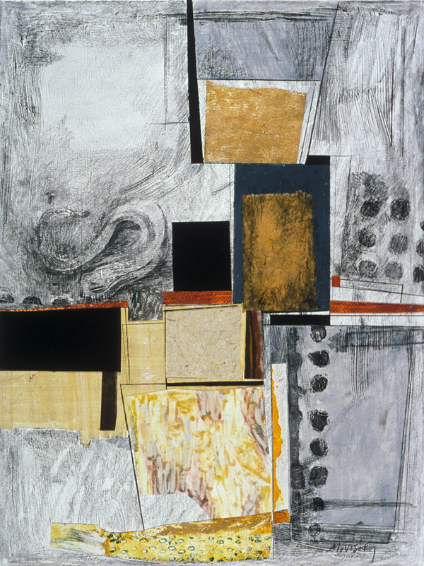 Mitchell Visoky Archived Mixed Media Mixed Media Collage on paper