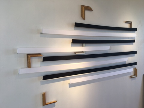 Walter Kopec CURRENT EXHIBITIONS wood; ribbon