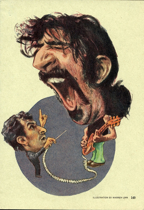 Illustration Archives Mehta & Zappa for Playboy mag