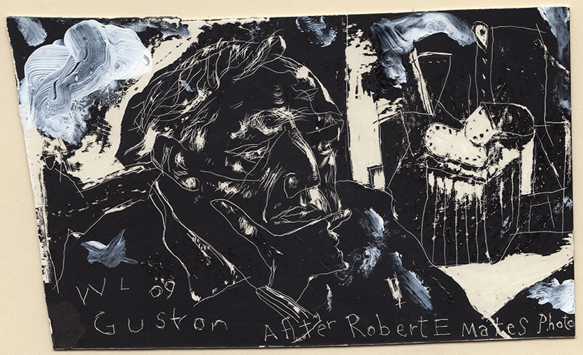 Scratchboard Guston