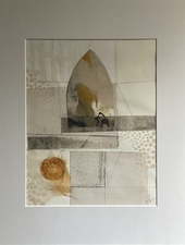 Wendy Aikin Collage Mixed Media Collage
