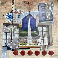 Wendy Aikin Collage Mixed Media