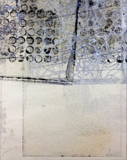 Wendy Aikin The Memory Project Encaustic Monoprint
