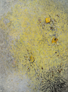 Willa Cox Nature-based Abstraction mixed media on paper