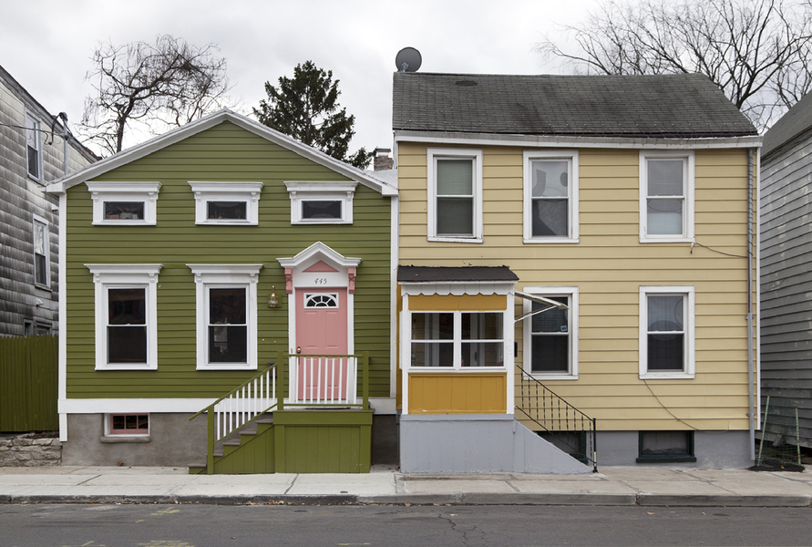 Personal Work Two Houses 1, Hudson NY