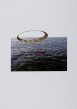 "WILLIAM C. MAXWELL  ""The Perfect Circle"" Perfect Circle:  Nature of Things Series, 2009 Digital Print with Hand Coloring"