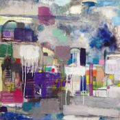 Wilson Avenue Loft Artists ERIN DOLAN oil on canvas