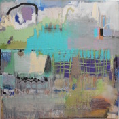 "Wilson Avenue Loft Artists ERIN DOLAN 28"" x 28"""