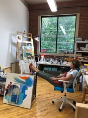 Wilson Avenue Loft Artists PHOTO GALLERY