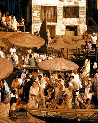 View Collection: Cityscapes River Ganges, Benares India 1972