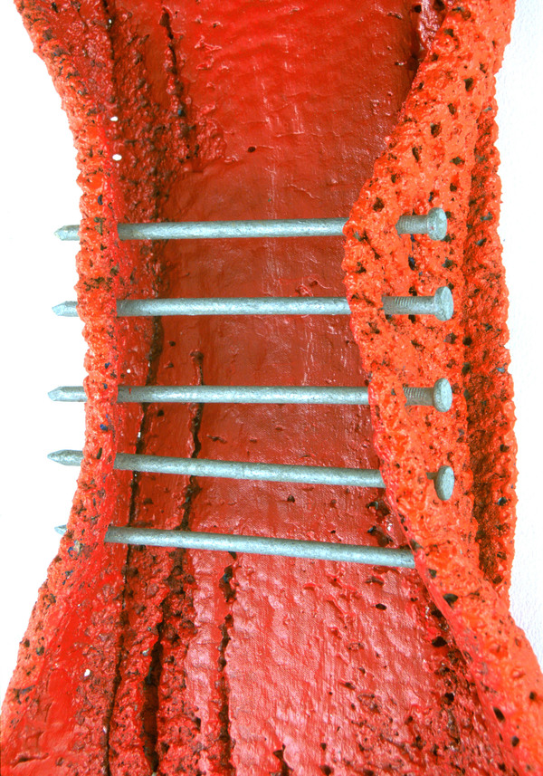 WOOLPUNK Shroud Series Blanket, paint & spikes