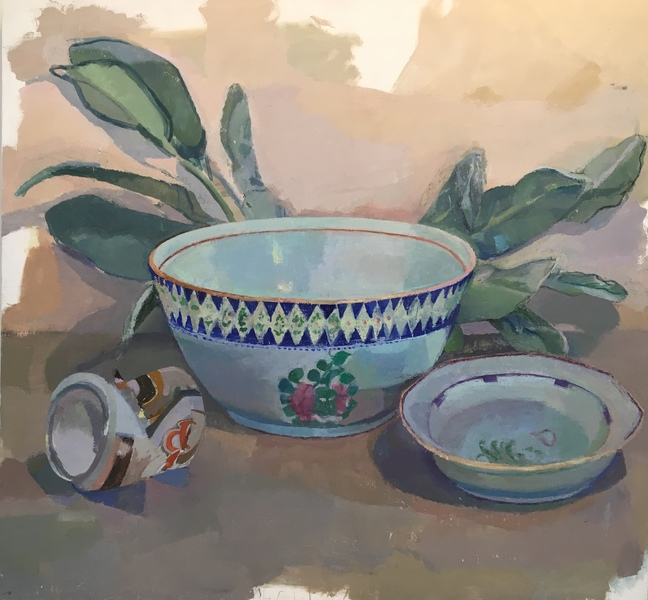 Paintings Bowl, Laurel