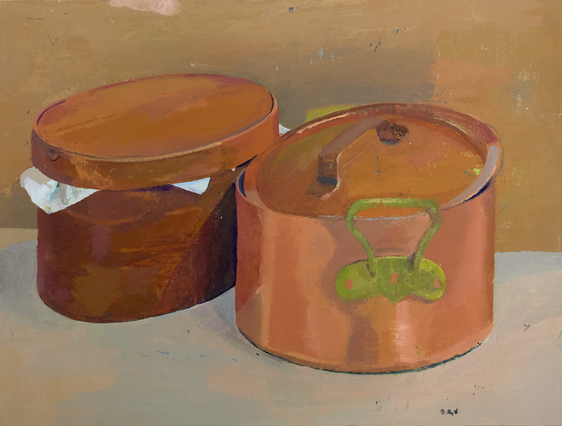 Paintings Copper Pot, Box