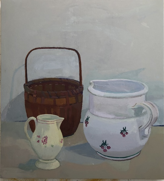 Paintings Cherry Pitcher