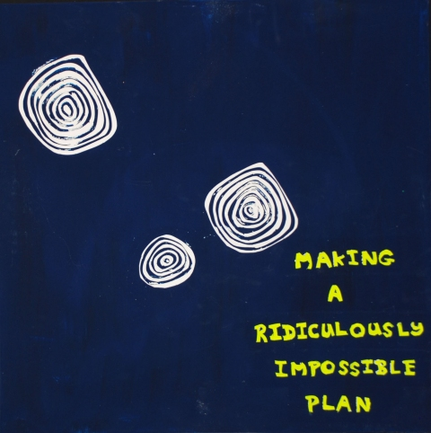 Making a ridiculously impossible plan