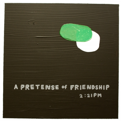 A pretense of friendship