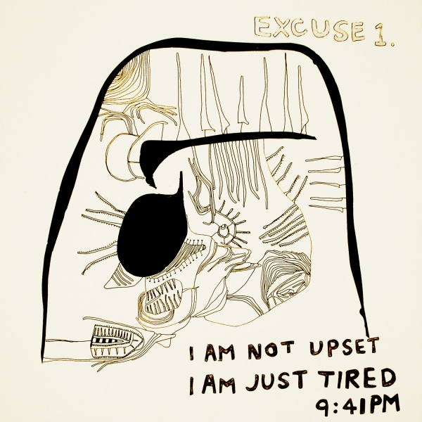 I am not upset, I am just tired.<br/>