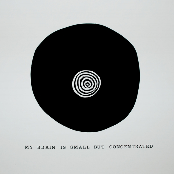 My brain is small but concentrated<br/>