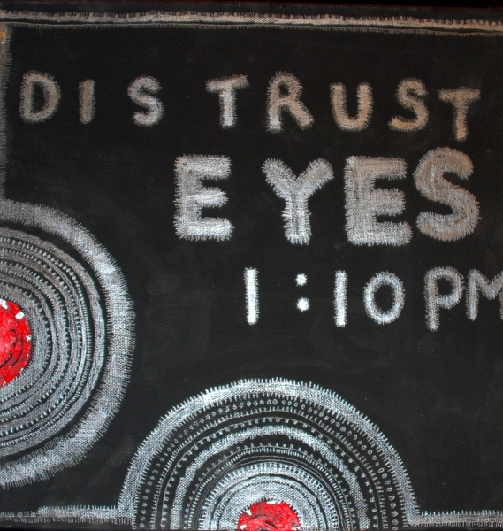 Distrust Eyes<br/>
