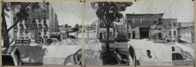 Craig Eastland Brooklyn / <br>Incarceration graphite & ink on paper