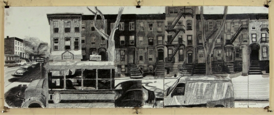 Craig Eastland Brooklyn / <br>Incarceration ink & graphite on paper