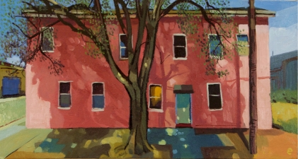 Craig Eastland Oakland / <br>Foreclosures oil on canvas
