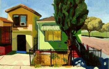Craig Eastland Oakland / <br>Foreclosures oil on board