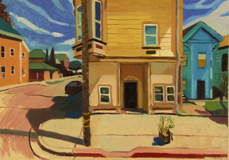 Craig Eastland Oakland / <br>Foreclosures oil on panel
