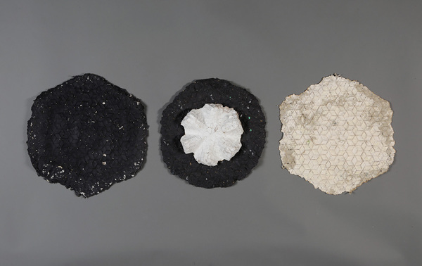 Zia Gipson Cast Paper Paper pulp cast in baskets