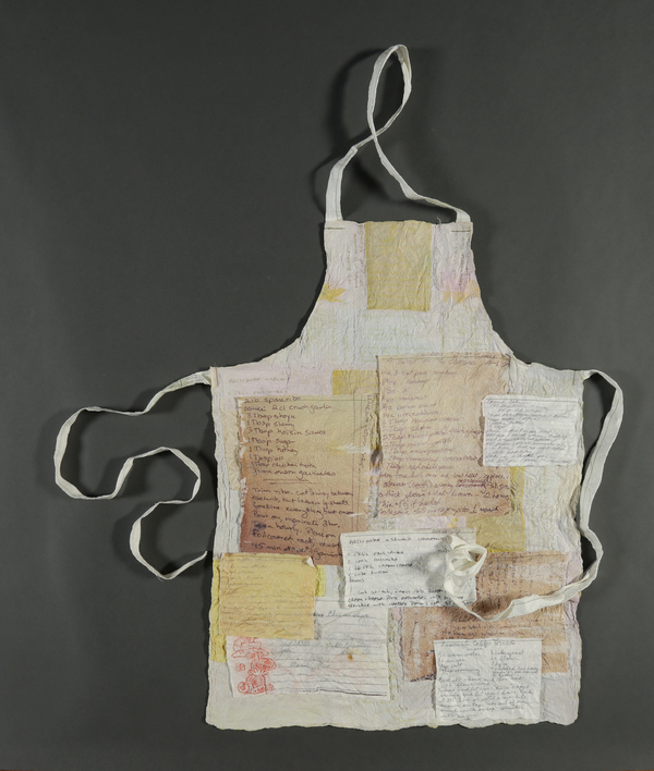 Zia Gipson Narrative Felted Paper Mulberry paper, machine stitching